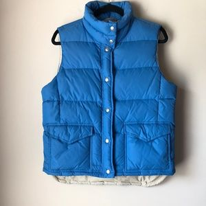 J.CREW DOWN FILLED PUFFER VEST